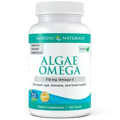 Algae Omega 120 ct - Nordic Naturals