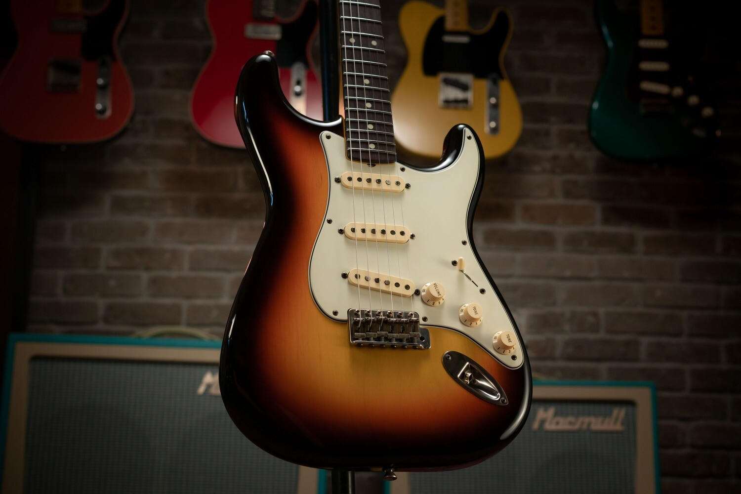 Private Stock S-Classic, Three Tone Sunburst