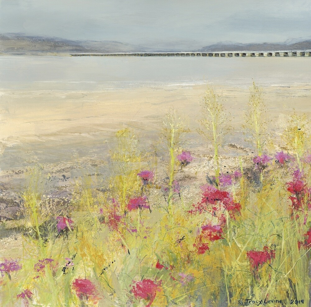 Pinks, Arnside Bay Reproduction print
