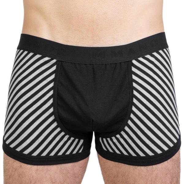 Manor Stripes Crno-Dvobojne Bokserice