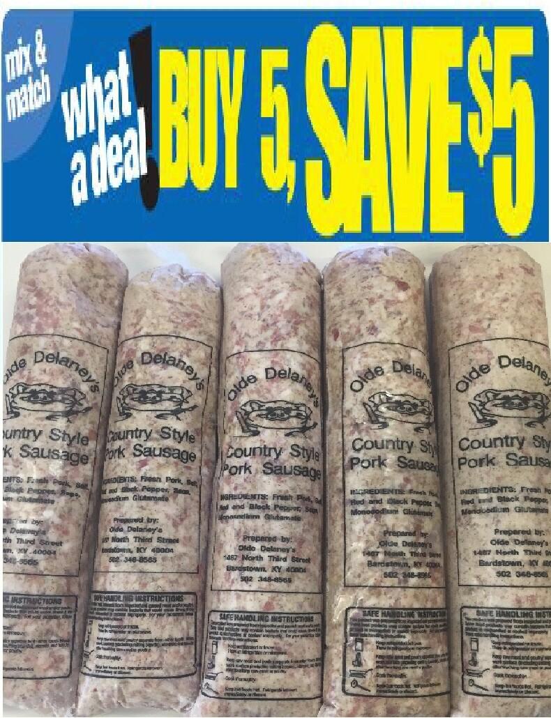 Olde Delaney's Mild Sausage