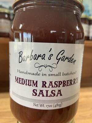Barbara's Garden Medium Raspberry Salsa