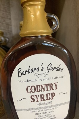 Barbara's Garden Country  Syrup 12 oz