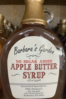 Barbara's Gardens No Sugar Added Apple Butter Syrup