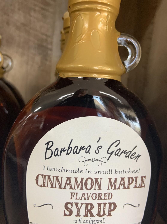 Barbara's Garden Cinnamon Maple Flavored Syrup 12 oz