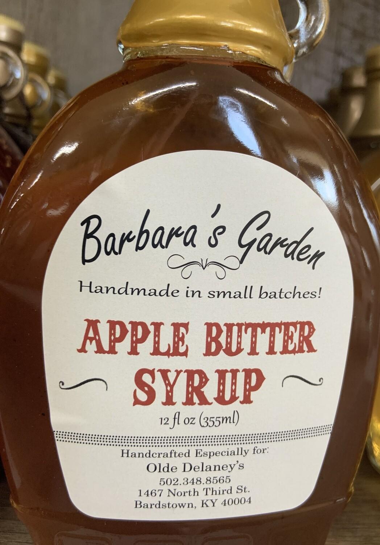 Barbara's Garden Apple Butter  Syrup 12 oz