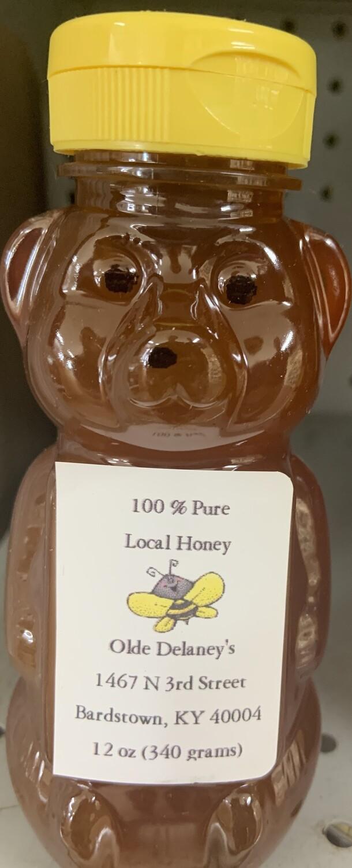 Local Honey 16oz bear