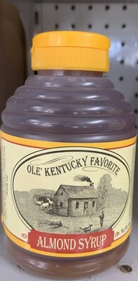 Old Kentucky Almond Syrup 16oz