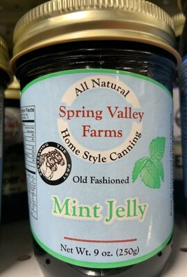 Spring Valley Farms Mint Jelly 9oz