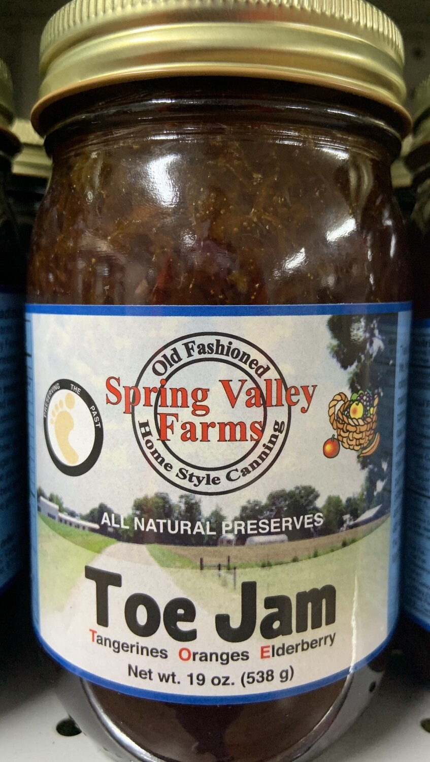 Spring Valley Farms Toe Jam 19oz