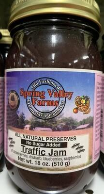 Spring Valley Farms No Sugar Added Fruit Juice Sweetened Traffic Jam 19oz