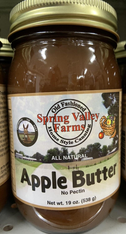Spring Valley Farms Apple Butter 19oz