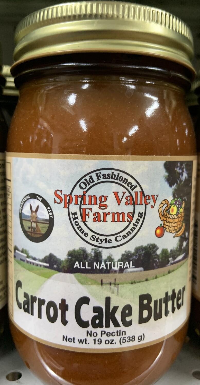 Spring Valley Farms Carrot Cake Butter 19oz