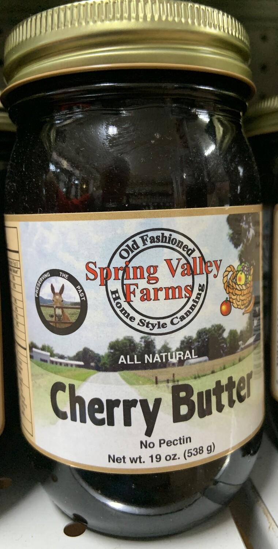 Spring Valley Farms Cherry Butter 19oz