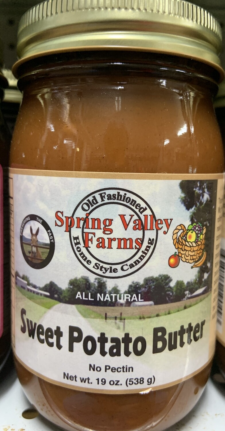 Spring Valley Farms Sweet Potato Butter 19oz