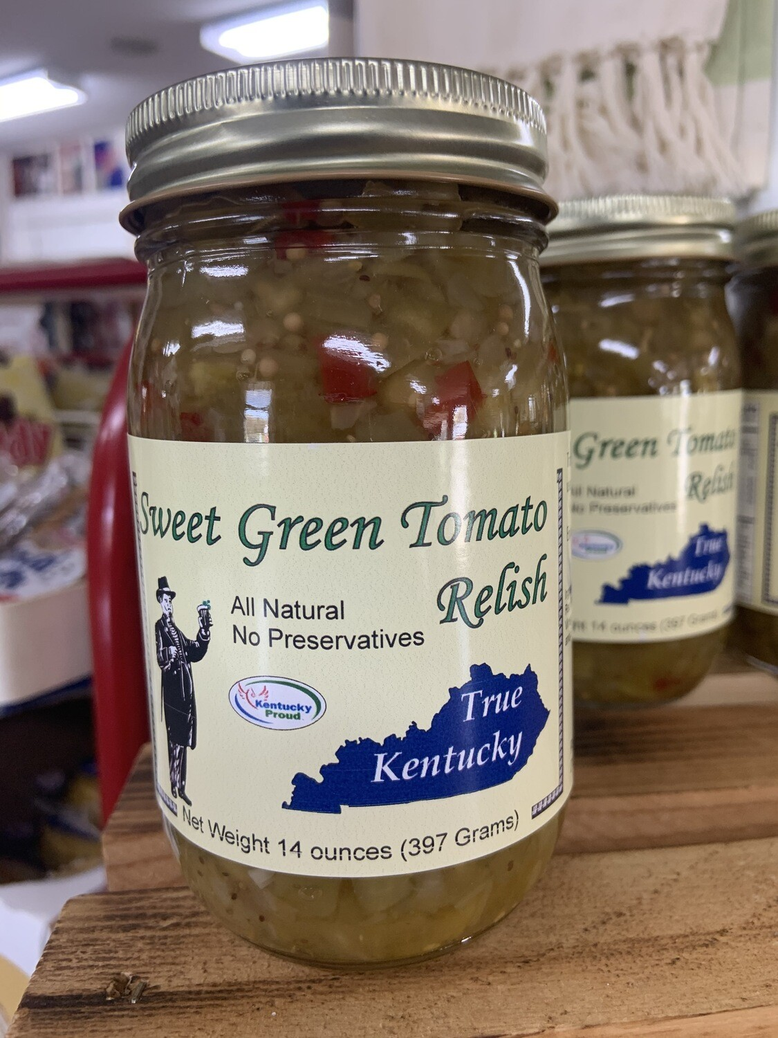 True Ky Sweet Green Tomato Relish