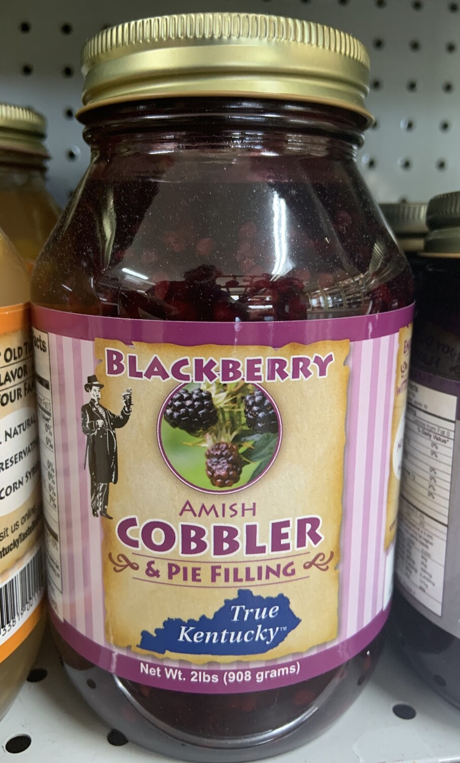 True Ky Blackberry Cobbler & Pie Filling 26oz