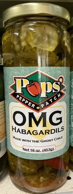 Pops OMG Ghost Chile Habagardils 16 oz