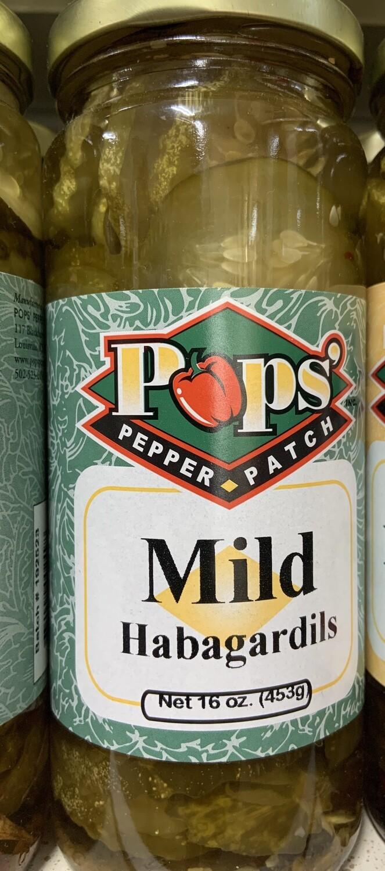 Pops Mild Habgardils 16 oz
