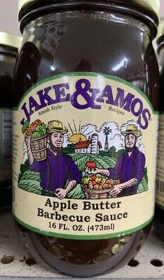 Jake & Amos Apple Butter BBQ Sauce 16oz