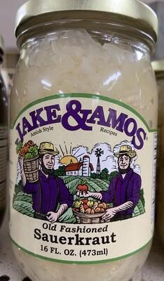Jake & Amos Old Fashioned Sauerkraut 16oz