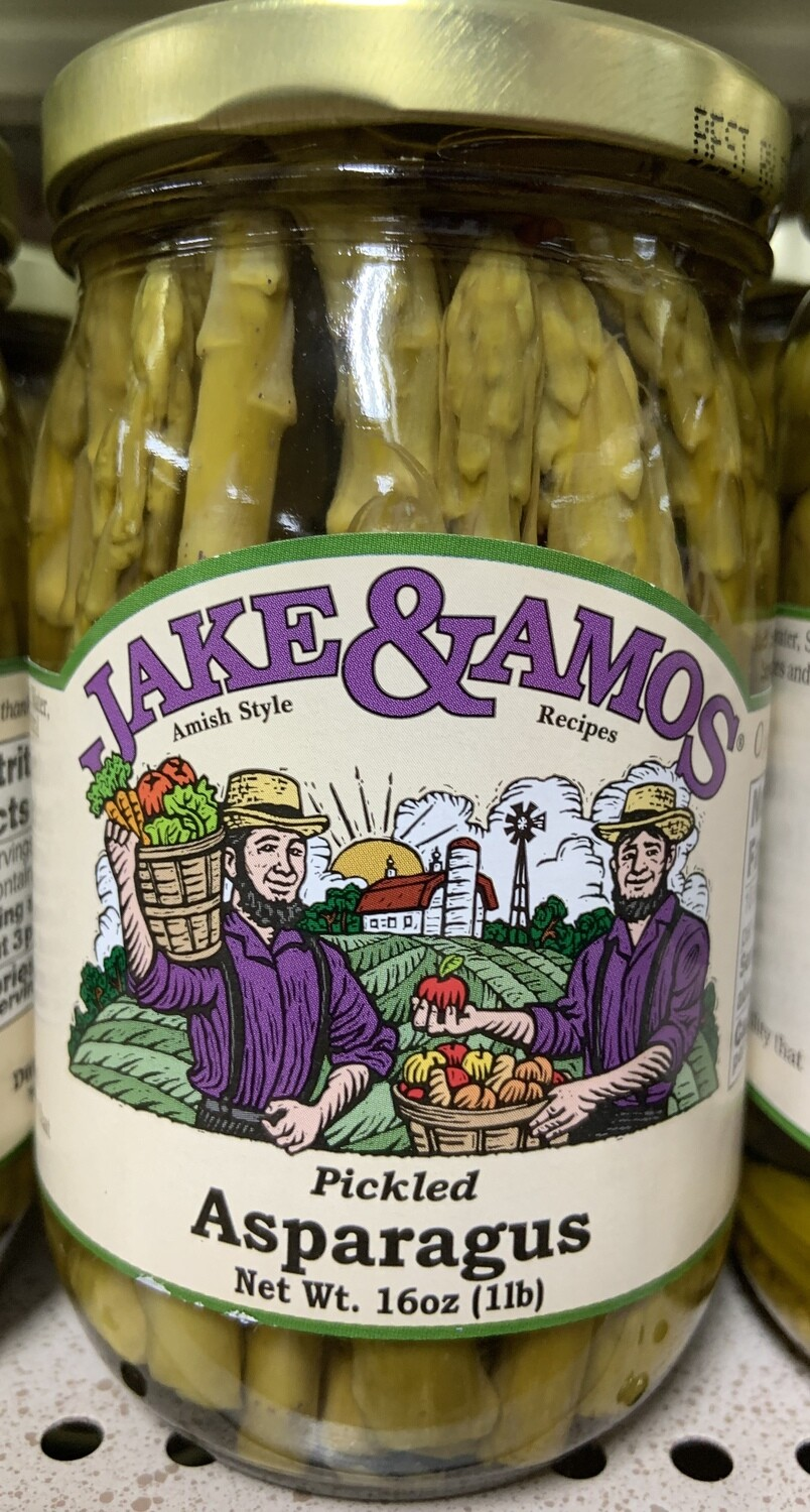 Jake and Amos Pickled Asparagus