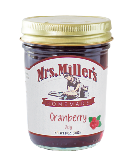 Mrs Miller's Cranberry Jelly 9 oz