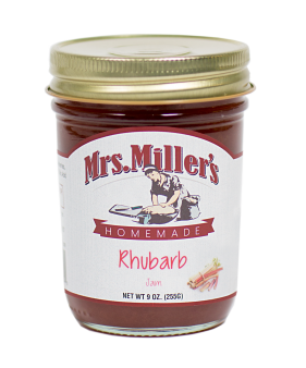 Mrs Miller's Rhubarb Jam 9 oz
