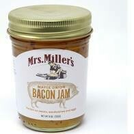 Mrs Miller's Maple Onion Bacon Jam 9 oz