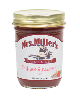 Mrs Miller's Rhubarb-Strawberry Jam 9 oz