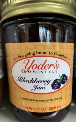 Yoder's Blackberry Jam 11 oz