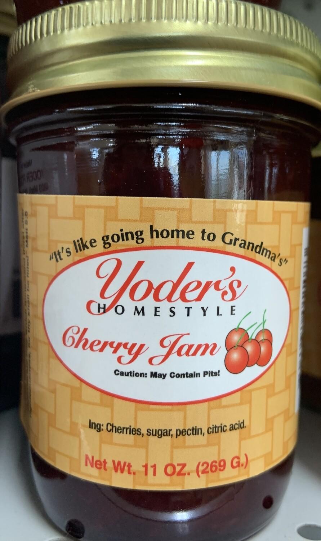 Yoder's Cherry Jam 11 oz