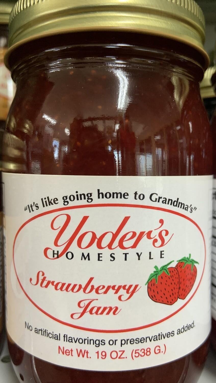 Yoder's Strawberry Jam 19 oz