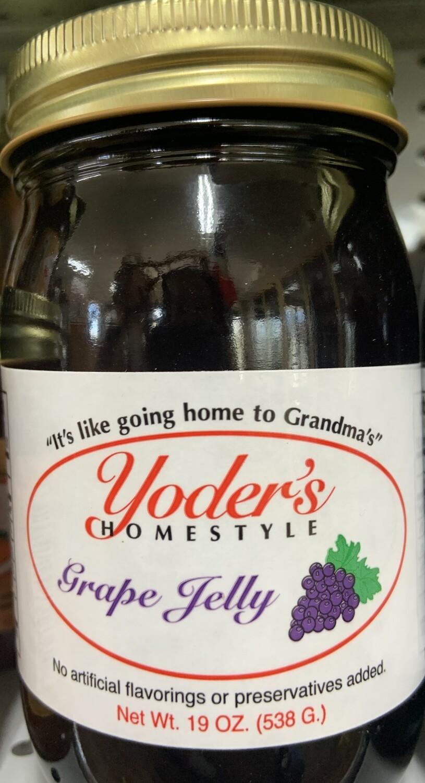 Yoder's Grape Jelly 19 oz