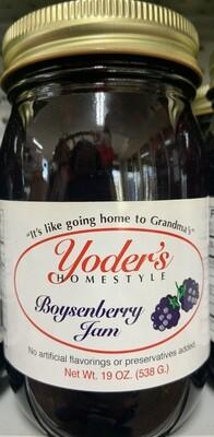 Yoder's Boysenberry Jam 19 oz
