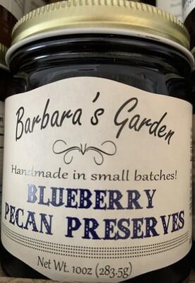 Barbara's Garden Blueberry Pecan Preserves 10 oz