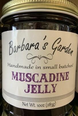 Barbara's Garden Muscadine Jelly 10 oz