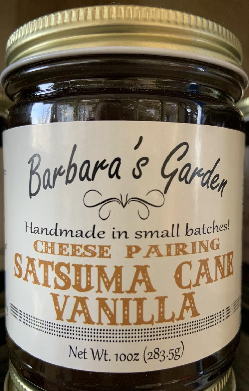 """Barbara's Garden """"Cheese Pairing"""" Satsuma Cane Vanilla Jelly 10 oz"""