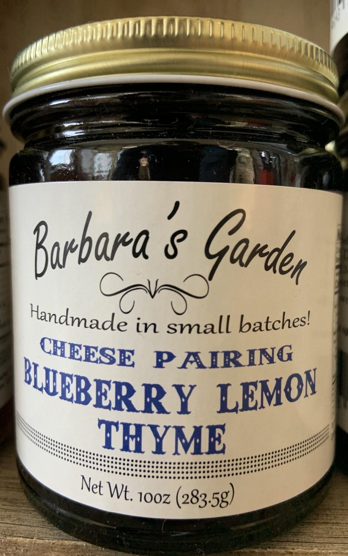 "Barbara's Garden Cheese Pairing"" Blueberry Lemon Thyme 10 oz"