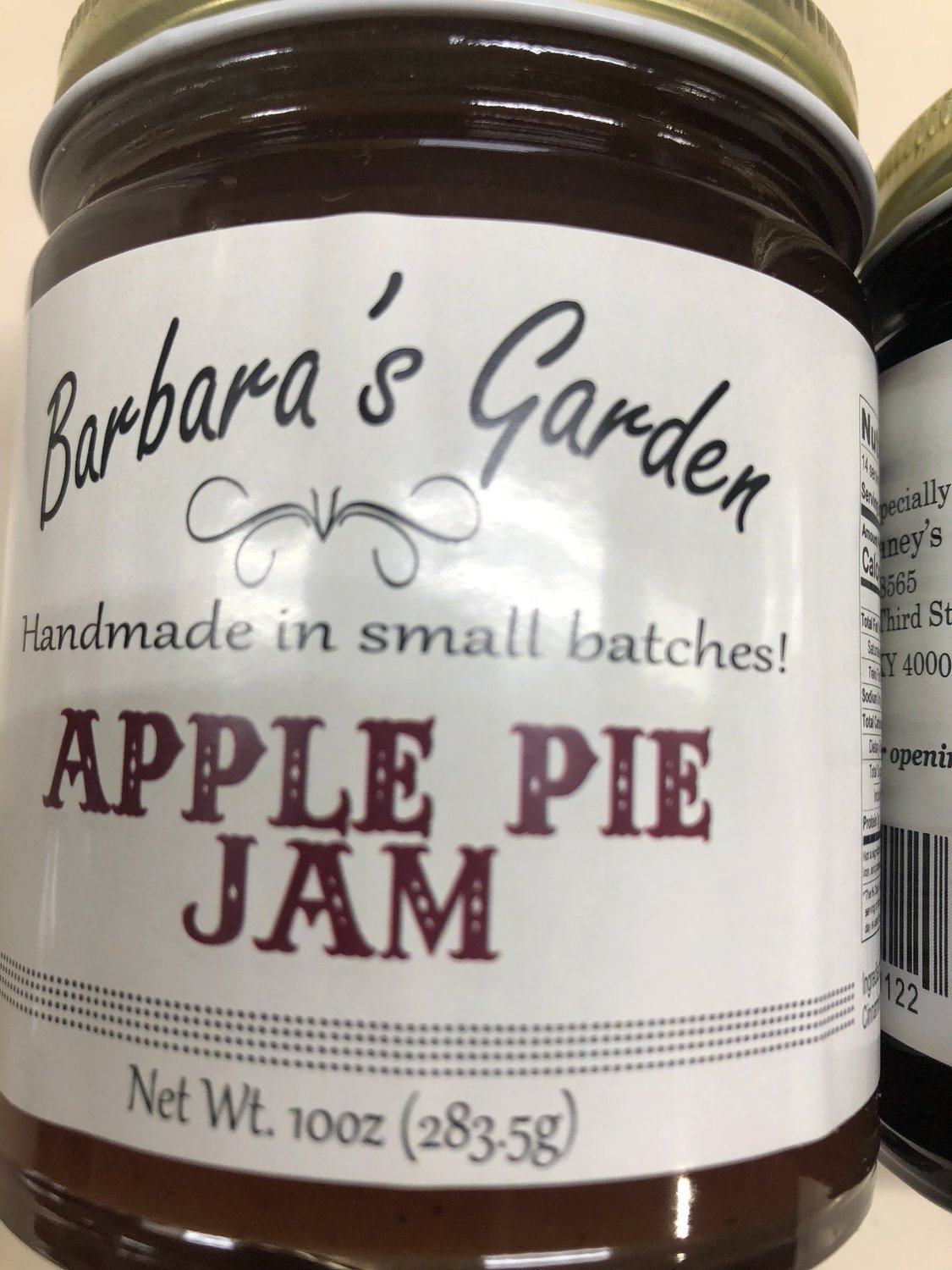 Barbara's Garden Apple Pie Jam 10 oz