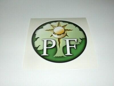 PF Car Sticker