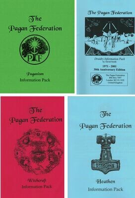All 4 Information Booklets - Special Offer