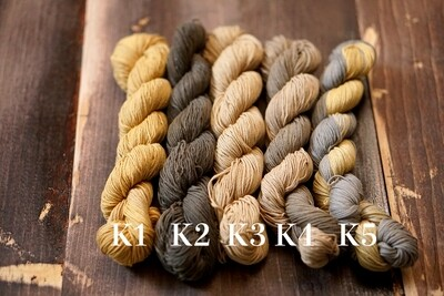 Persimmon Dye Kakishibu Sashiko Thread 2019 Collection