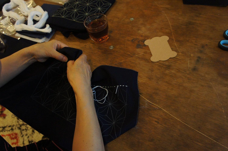 [Discontinued / per request] Live-Style Online Sashiko Workshop | Core & Basic