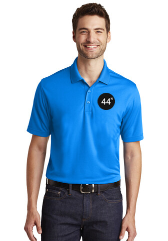 44N Port Authority® Dry Zone®UV Micro-Mesh Polo - K110 - Coastal Blue