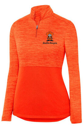 LADIES SHADOW TONAL HEATHER 1/4 ZIP PULLOVER (2 Color Choices)