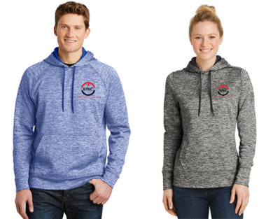 Sport-Tek® PosiCharge® Electric Heather Fleece Hooded Pullover ST225/LST225