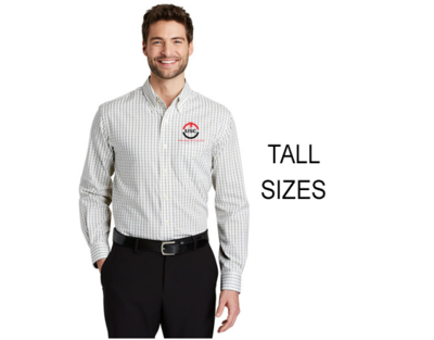 Port Authority® Tattersall Easy Care Shirt  TLS642 TALL