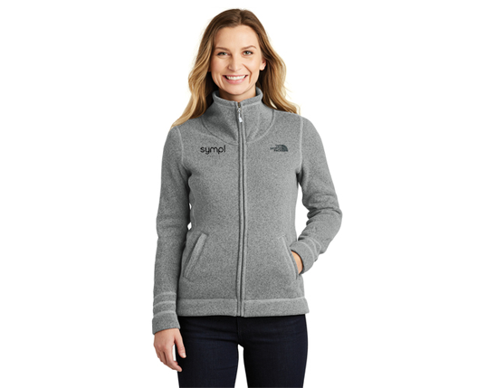 The North Face® Ladies Sweater Fleece Jacket - NF0A3LH8