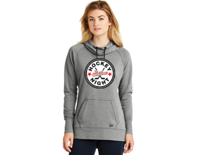 New Era® Ladies Tri-Blend Fleece Pullover Hoodie - HOCKEY